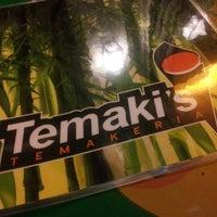 Photo taken at Temaki's Temakeria by Tais C. on 3/8/2013