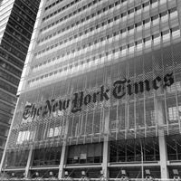 Photo taken at The New York Times Building by Bruno S. on 6/26/2014
