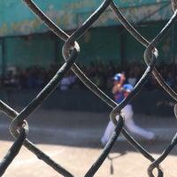 "Photo taken at Campo De Softbol ""Ramon Milantoni"" by Fatima Maria R. on 11/5/2016"