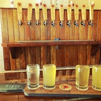 Photo taken at Bull City Ciderworks by Rachael L. on 10/9/2014