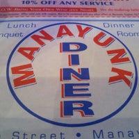 Photo taken at Manayunk Diner by Guy V. on 11/3/2012