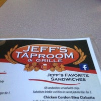 Photo taken at Jeff's Taproom & Grille by Guy V. on 9/5/2013