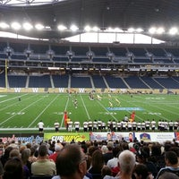 Photo taken at Investors Group Field by Becca H. on 8/31/2013