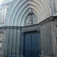 Photo taken at esglesia de la santa creu by Christian A. on 10/18/2014