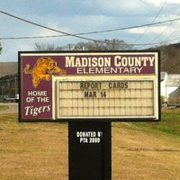 Photo taken at Madison County Elementary School by 🌛✨StarryTrish✨🌜 on 3/20/2013