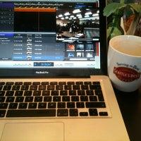 Photo taken at Lattetude Coffee Lounge & Bistro by Ben O. on 3/13/2013