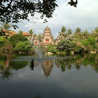 Photo taken at Ayodya Resort Bali by Takeshi S. on 11/22/2012