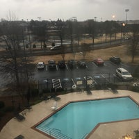 Photo taken at Hilton Garden Inn Macon / Mercer University by Melly M. on 2/12/2018