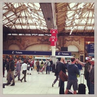 Photo taken at London Victoria Railway Station (VIC) by CoolBurning on 6/23/2013