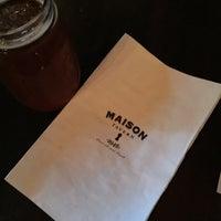 Photo taken at Maison Tavern by Matt K. on 9/11/2015