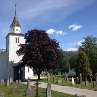 Photo taken at Ulvik kirke by Øyvind R. on 5/27/2014