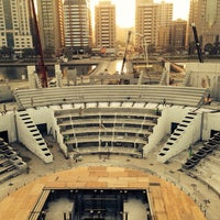 Photo taken at مسرح المجاز by Mohammed K. on 2/22/2014