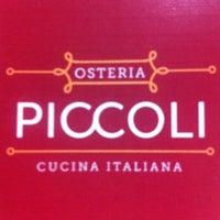 Photo taken at Piccoli by Marianita V. on 5/16/2013