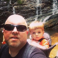 Photo taken at Margarette Falls Trail by Kent V. on 6/6/2014