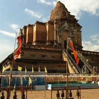 Photo taken at Wat Chedi Luang Varavihara by SAVEMYLIFE on 1/1/2013