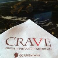 Photo taken at CRAVE American Kitchen & Sushi Bar by Tim B. on 7/12/2013