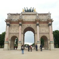 Photo taken at Arc de Triomphe du Carrousel by Alexei B. on 5/25/2013