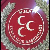 Photo taken at MHP Tuzla İlçe Başkanlığı by Sezer S. on 5/29/2015