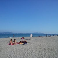 Photo taken at Северен Плаж (North Beach) by Alexandra I. on 5/2/2013