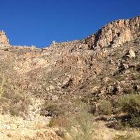 Photo taken at Sabino Canyon Recreation Area by Matt H. on 2/14/2013