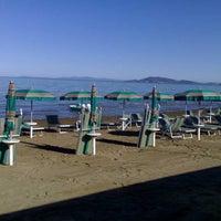 Photo taken at Bagno Nettuno by Alberto on 8/11/2013