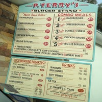 Photo taken at P. Terry's Burger Stand by Mary C. on 11/10/2012
