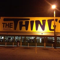 Photo taken at The Thing? by Mary C. on 12/22/2012