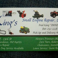 Photo taken at King's Small Engine Repair by Gretchen H. on 7/20/2013