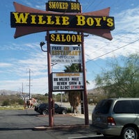 Photo taken at Willie Boys Saloon by Brigette on 10/17/2014