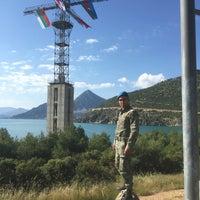 Photo taken at Eğirdir Dağ Komando Okulu Çok Maksatlı Kule by Mehmet T. on 6/10/2016