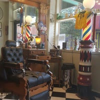 Photo taken at Uncle Joe's Barbershop by Jason R. on 8/19/2016