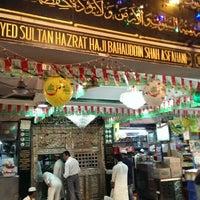 Photo taken at Hazrat bahauddin baba dargah by Sarfaraz Hussain S M. on 2/12/2014