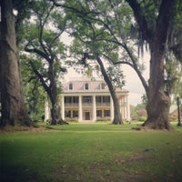 Photo taken at Houmas House Plantation and Gardens by Corey T. on 4/18/2013