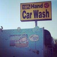 Photo taken at Sun Hand Car Wash by Carlee C. on 10/13/2012