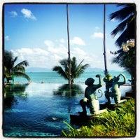 Photo taken at Anantara Bophut  Resort And Spa by 💤 on 1/26/2013