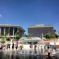 Photo taken at Grand Park by Sean on 10/7/2012