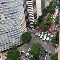 Photo taken at Feira de Artes e Artesanato de Belo Horizonte (Feira Hippie) by Fabiano R. on 12/1/2013