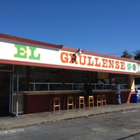 Photo taken at Tacos El Grullense #1 by Zachary L. on 10/16/2012