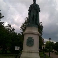 Photo taken at Памятник Иоанису Каподистрия by Анна Е. on 8/13/2015