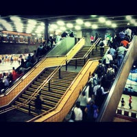 Photo taken at Metro Baquedano by Carlos M. on 12/5/2012