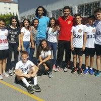 Photo taken at Ístanbul Spor Lisesi by Dilek on 7/14/2016