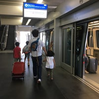 Photo taken at SFO AirTrain Station - Garage A by Y on 7/30/2017