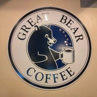 Photo taken at Great Bear Coffee by Sean S. on 3/6/2013
