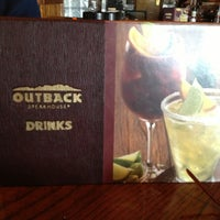 Photo taken at Outback Steakhouse by Kevin B. on 6/1/2013