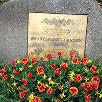 photo taken at shakespeare garden by seba s on 4112013 - Shakespeare Garden Central Park