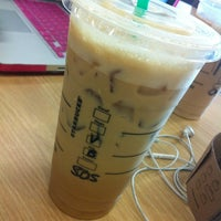Photo taken at Starbucks by Ngoc T. on 10/18/2012