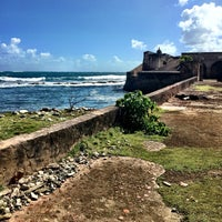 Photo taken at San Gerónimo Fort by Noelle on 2/25/2015