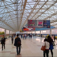 Photo taken at Xinzhuang Metro Station by Min T. on 3/18/2014