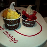 Photo taken at Red Mango by Celestial O. on 11/5/2012