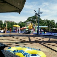 Photo taken at Desa WaterPark by Naqib I. on 5/22/2016
